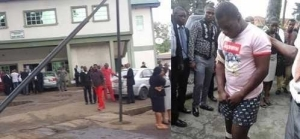 Gunmen Storm Imo High Court to Rescue Notorious Criminal Who is Facing Trial (Photo)